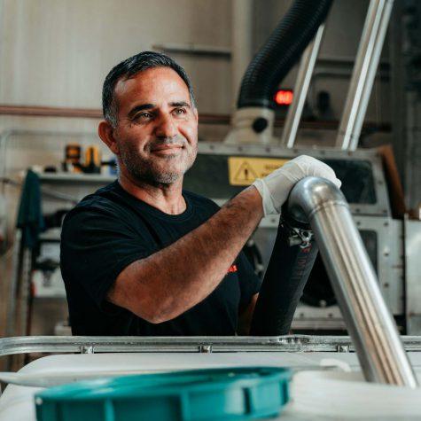 Claudio Frisullo in produzione