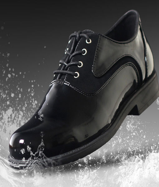 Waterproof Leather Shoes Black
